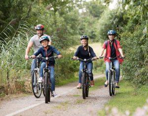 Cycling in Norfolk. Aylsham windmill acconnodation