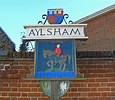 Aylsham town sign